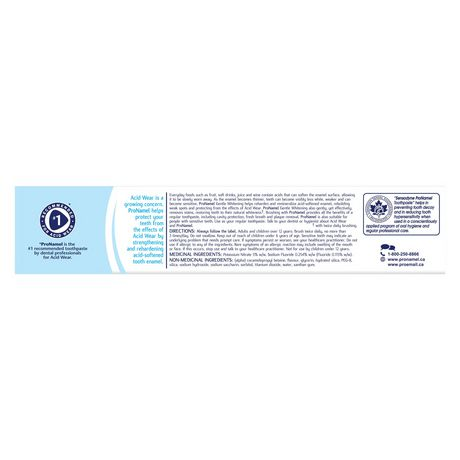 ProNamel Gentle Whitening Enamel Care Toothpaste - Value Size - image 6 of 8