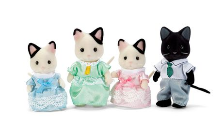 Calico Critters Tuxedo Chat Famille - image 1 de 2