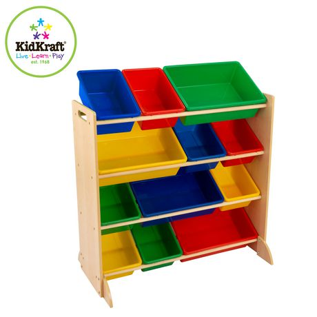 Kidkraft Sort It And Store It Bin Unit - image 2 of 4