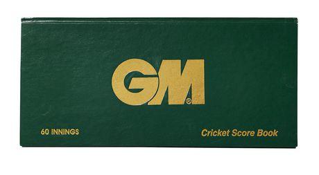 Gunn & Moore 60 Innings Cricket Score Book - image 1 of 1