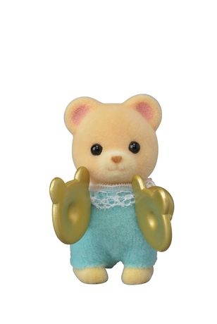 CALICO CRITTERS BABY BAND SERIES SINGLE GRACE HOPSCOTCH RABBIT WITH VIOLIN