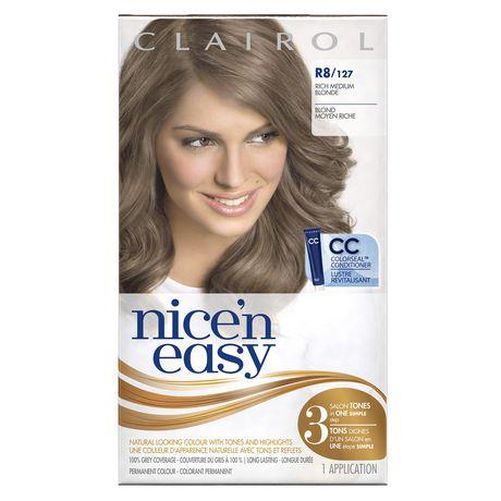 Clairol Nice39n Easy Hair Colour 1 Kit  Walmartca