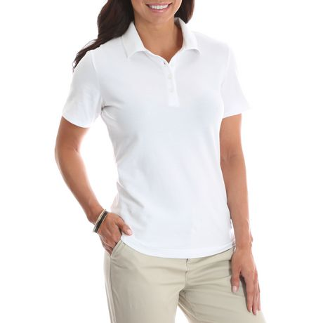 Lee Riders Riders by Lee Women s Knit Polo Shirt  67ef2254f