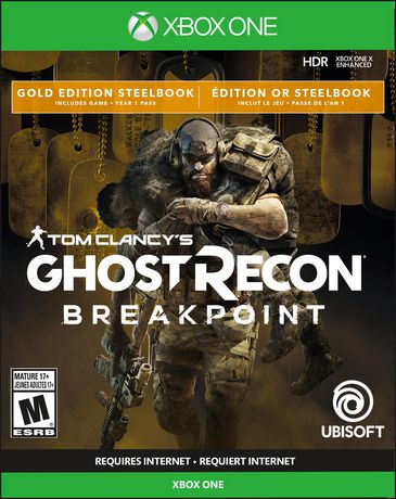 Tom Clancy's Ghost Recon Breakpoint Gold Steelbook Edition (Xbox One) - image 1 of 6