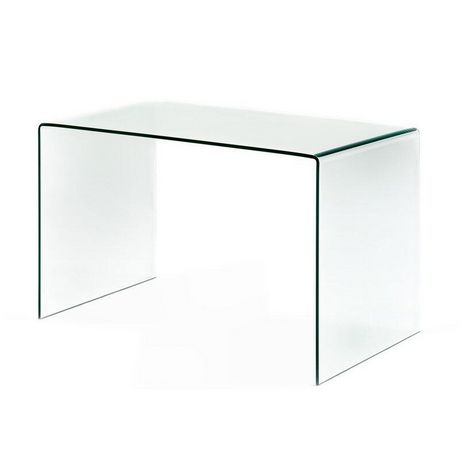 Plata Décor Waterfall Glass Console Table - image 1 of 3