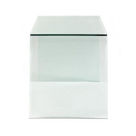 Plata Décor Waterfall Glass Console Table - image 2 of 3