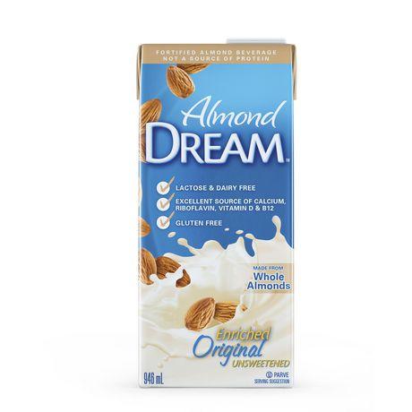 Almond Dream - Boisson non laitière originale non sucrée enrichie - image 1 de 4