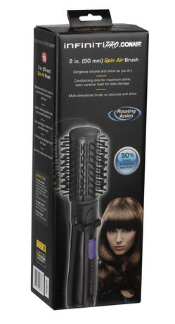 infinitiPRO by Conair 2in. (50mm) Spin Hot Air Brush - image 3 of 3