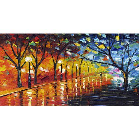 Design Art Stroll through Beauty Landscape Canvas Art - image 1 of 2