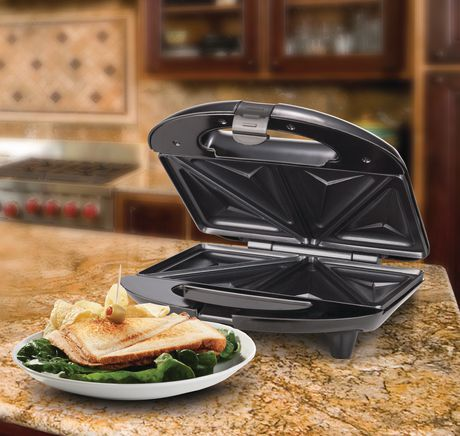 Brentwood Stainless Steel Sandwich Maker - image 5 of 9