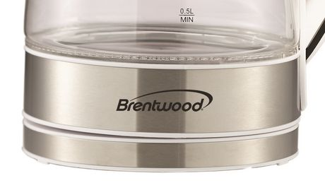 Brentwood 1.7L Cordless Glass Electric Kettle - image 6 of 7