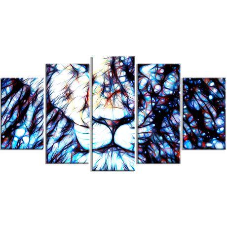 D coration murale sur toile design art motif de chef for Decoration murale walmart