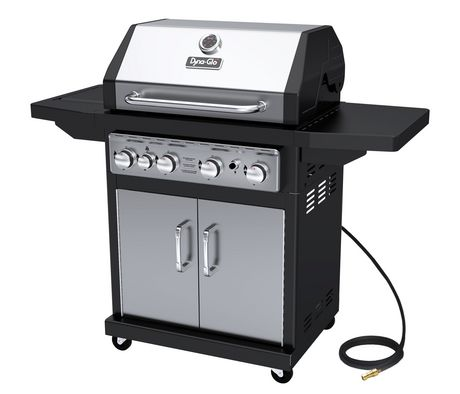 Dyna-Glo DGA480SSN-D 4 Burner Stainless Natural Gas Grill - image 1 of 6