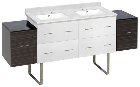 American Imaginations 74.5-in. W Vanity Set  Gris - image 1 of 1
