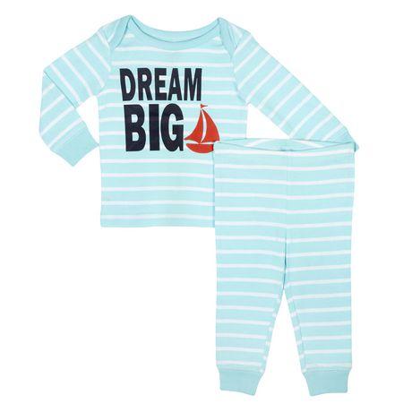 ens 2 pi ces pyjama george pour b b gar on. Black Bedroom Furniture Sets. Home Design Ideas