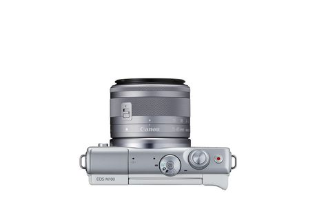Canon Canada Inc Canon EOS M100 EF-M 15-45mm is Stm Kit White - image 8 of 9