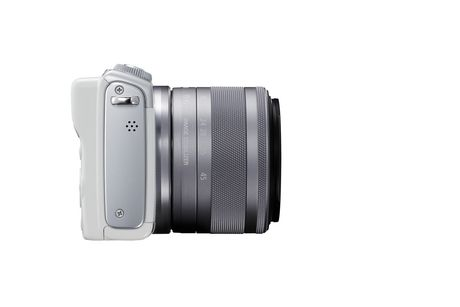 Canon Canada Inc Canon EOS M100 EF-M 15-45mm is Stm Kit White - image 7 of 9