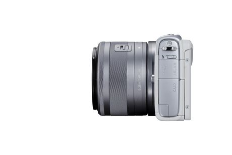 Canon Canada Inc Canon EOS M100 EF-M 15-45mm is Stm Kit White - image 6 of 9