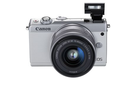 Canon Canada Inc Canon EOS M100 EF-M 15-45mm is Stm Kit White - image 3 of 9
