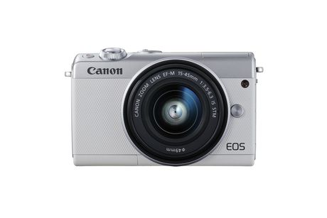 Canon Canada Inc Canon EOS M100 EF-M 15-45mm is Stm Kit White - image 1 of 9