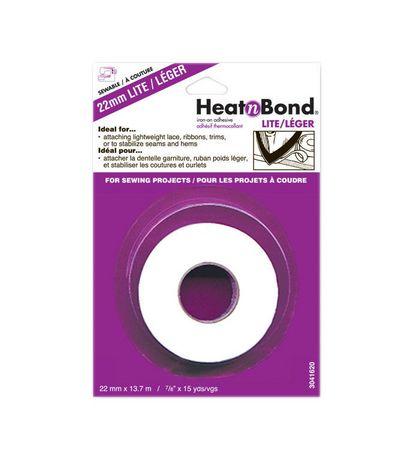 HeatnBond Lite Iron-On No-Sew Tape 22mm - image 1 of 1