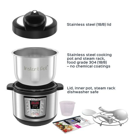 Instant Pot 3 Quart Luxe 6-in-1 Multi-use Programmable Electric Pressure Cooker - image 3 of 4