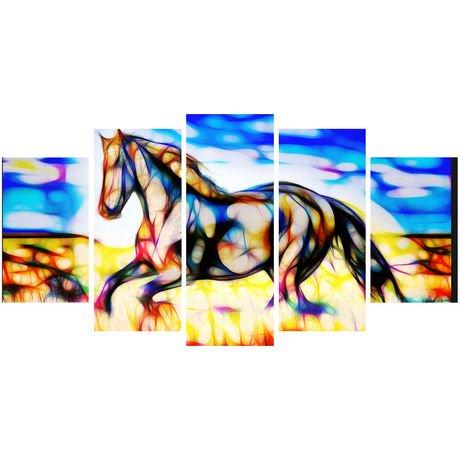 D coration murale sur toile design art talon noir for Decoration murale walmart