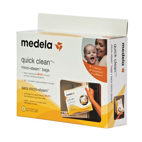 Medela Quick Clean Micro-Steam Bags - 5 Bags - image 2 of 3