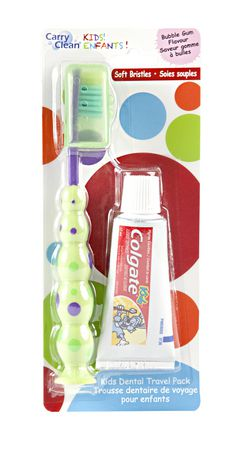 Carry Clean Kids Dental Travel Pack - image 1 of 1