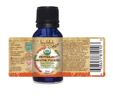 Buhbli Organics Peppermint Essential Oil - image 2 of 2