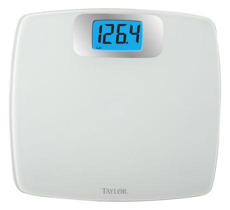 Genial Taylor 440 Lb Glass Digital Bath Scale