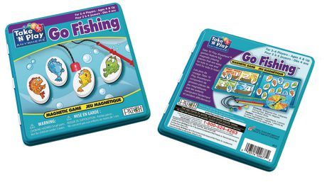 Take 'n' Play Anywhere - Go Fishing Magnetic GAME - image 1 of 2