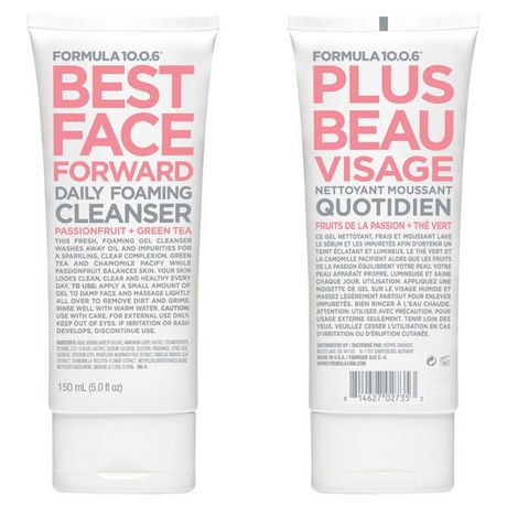 FORMULA 10.0.6 Best Face Forward Passionfruit + Green Tea Daily Foaming Cleanser - image 1 of 1