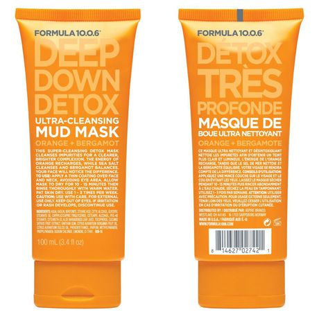 FORMULA 10.0.6 Deep Down Detox Ultra-Cleansing Mud Mask - image 1 of 1