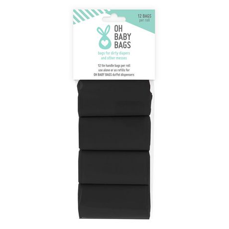 Oh Baby Bags 8 Roll Refill Header Card - image 1 of 2