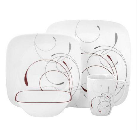 sc 1 st  Walmart Canada & Corelle® Splendor Dinnerware Set 16pc | Walmart Canada