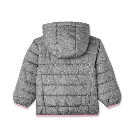 George Toddler Girls' Lightweight Puffer Jacket - image 2 of 2