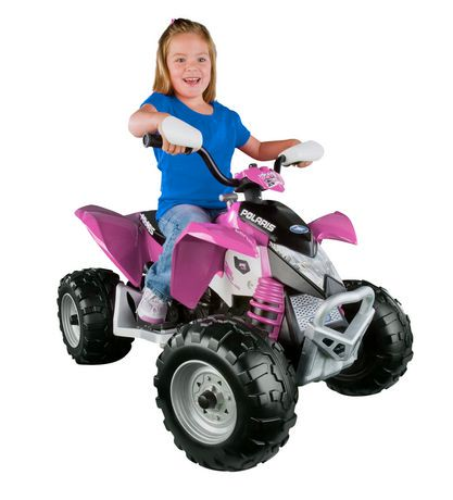 Peg Perego Polaris Outlaw Ride-on Vehicle - Pink | Walmart Canada