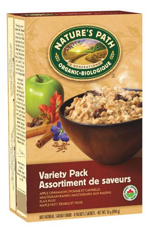 Nature S Path Organic Hot Oatmeal Variety Pack  Packets