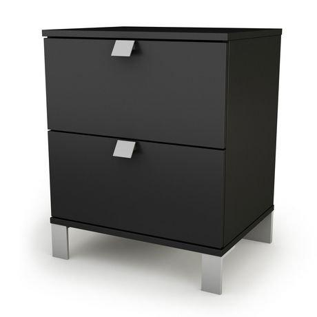 elm night west teak metal wood drawers c nightstand stand nash products drawer