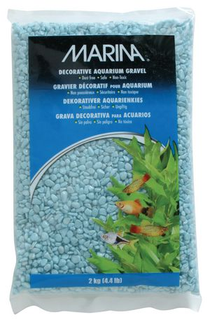 Marina surf decorative aquarium gravel 2kg 4 4 lb for Walmart fish gravel