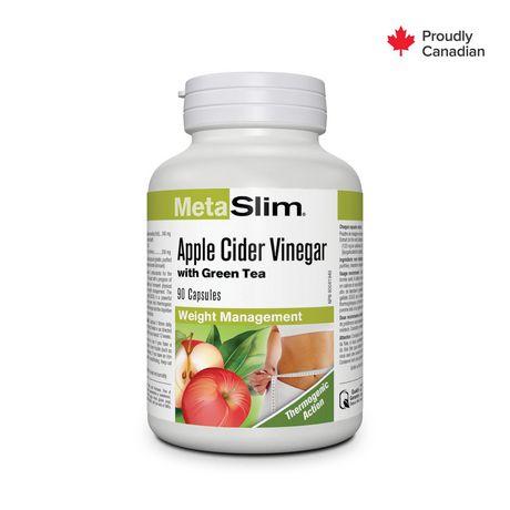 Metaslim Apple Cider Vinegar With Green Tea Walmart Canada