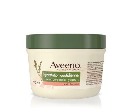 AVEENO®ACTIVE NATURALS®Daily Moisturizing Body Yogurt Moisturizer, Apricot and Honey, 198g - image 1 of 1