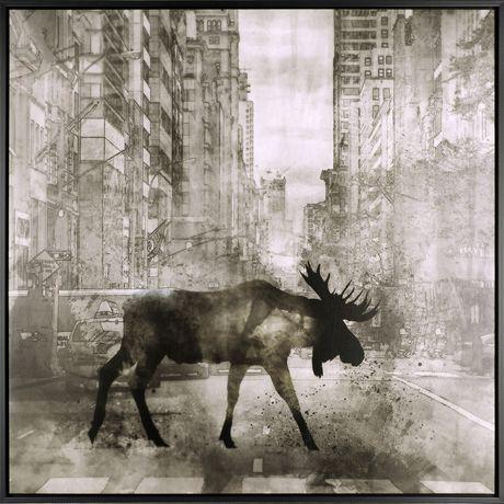Art naturel imprimé sur toile Élan rouge I par ArtMaison Canada - image 1 de 1