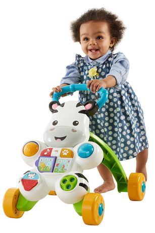 Fisher-Price Learn with Me Zebra Walker Playset - English Edition - image 3 of 9