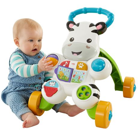 Fisher-Price Learn with Me Zebra Walker Playset - English Edition - image 2 of 9