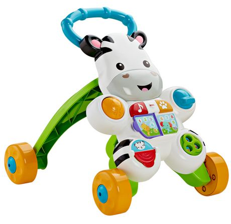 Fisher-Price Learn with Me Zebra Walker Playset - English Edition - image 5 of 9