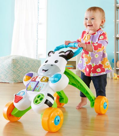 Fisher-Price Learn with Me Zebra Walker Playset - English Edition - image 6 of 9