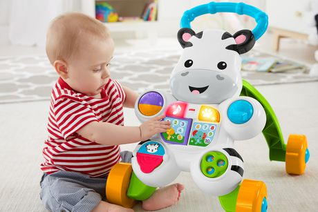 Fisher-Price Learn with Me Zebra Walker Playset - English Edition - image 7 of 9