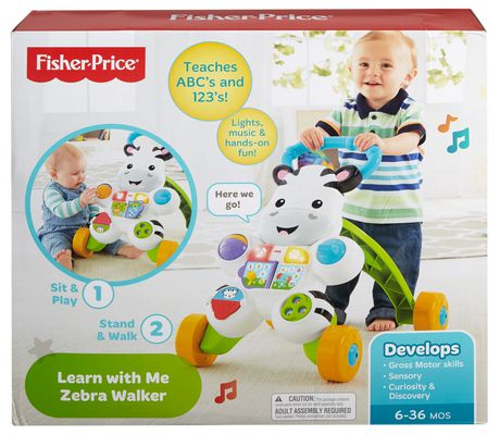 Fisher-Price Learn with Me Zebra Walker Playset - English Edition - image 8 of 9